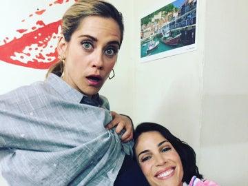 María León y Nerea Garmendia en las redes sociales