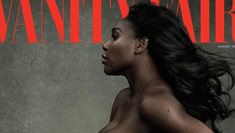 Serena Williams en la portada de Vanity Fair