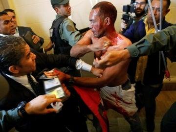 Disturbios en el Parlamento de Venezuela