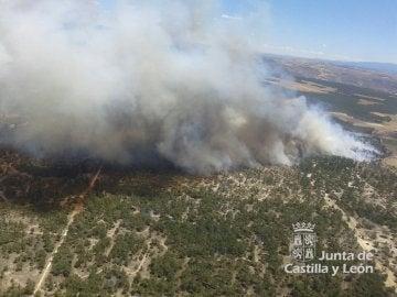 Incendio Navalilla (Segovia)