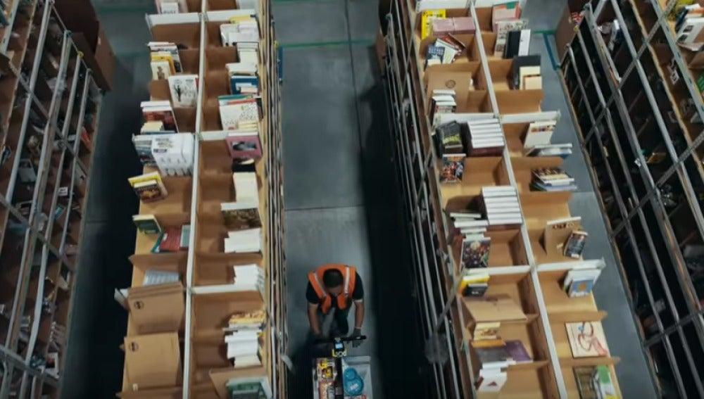 Un empleado de Amazon