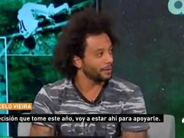 "Marcelo, sobre Cristiano Ronaldo: ""No me preocupa, muchas cosas son mentira"""