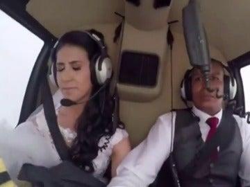 Una novia fallece en un accidente de helicóptero cuando se dirigía al lugar de celebración de la boda