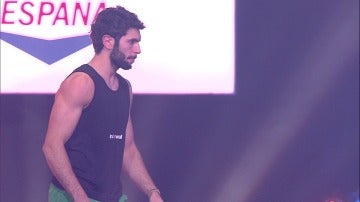 Sebastián Rodríguez roza el agua