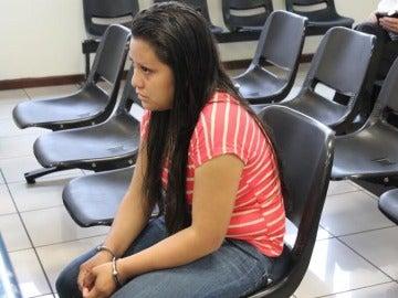 Evelyn Beatriz Hernández Cruz ante el tribunal