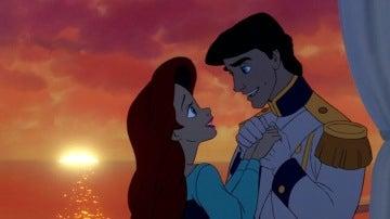 Ariel y el príncipe Eric de 'La Sirenita'