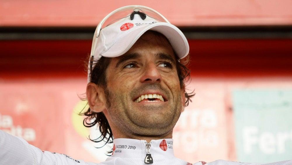 El ciclista español Ezequiel Mosquera (Archivo)