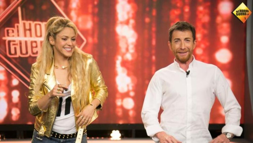 Pablo Motos y Shakira