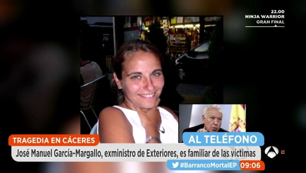 Madre de la familia fallecida en Cáceres