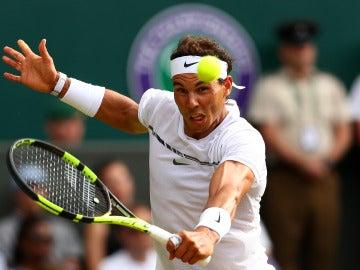 Nadal resta una pelota en Wimbledon