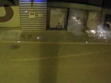 Desarticulada una banda que atracaba cajeros con explosivos