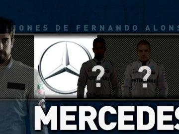 Las opciones de Alonso para el próximo año