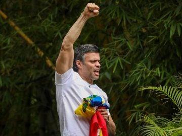 Leopoldo López tras su excarcelación