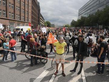 Manifestaciones en Hamburgo