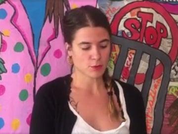 Alba, la joven que denuncia el abuso sexual