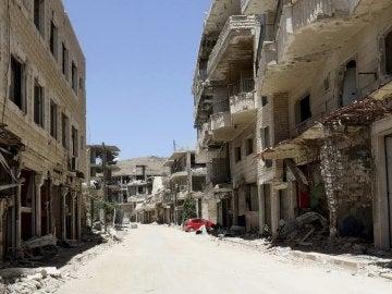 Calma en el suroeste sirio en el comienzo del alto el fuego