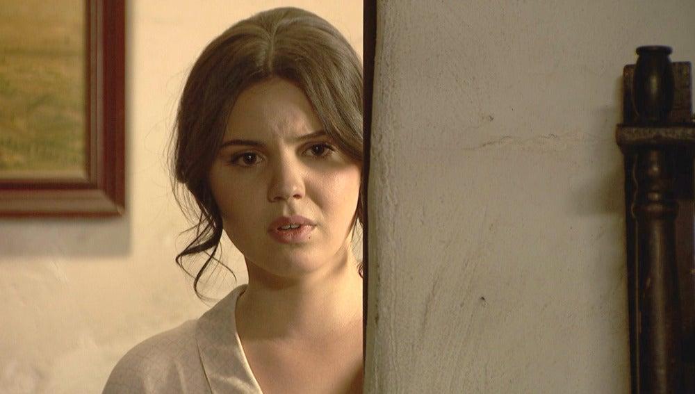 Marcela escucha una calurosa conversación entre Beatriz y Matías