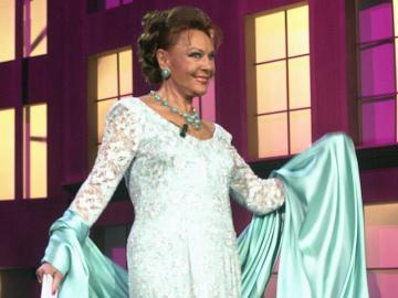 La actriz y cantante Francisca Rico Martínez, Paquita Rico