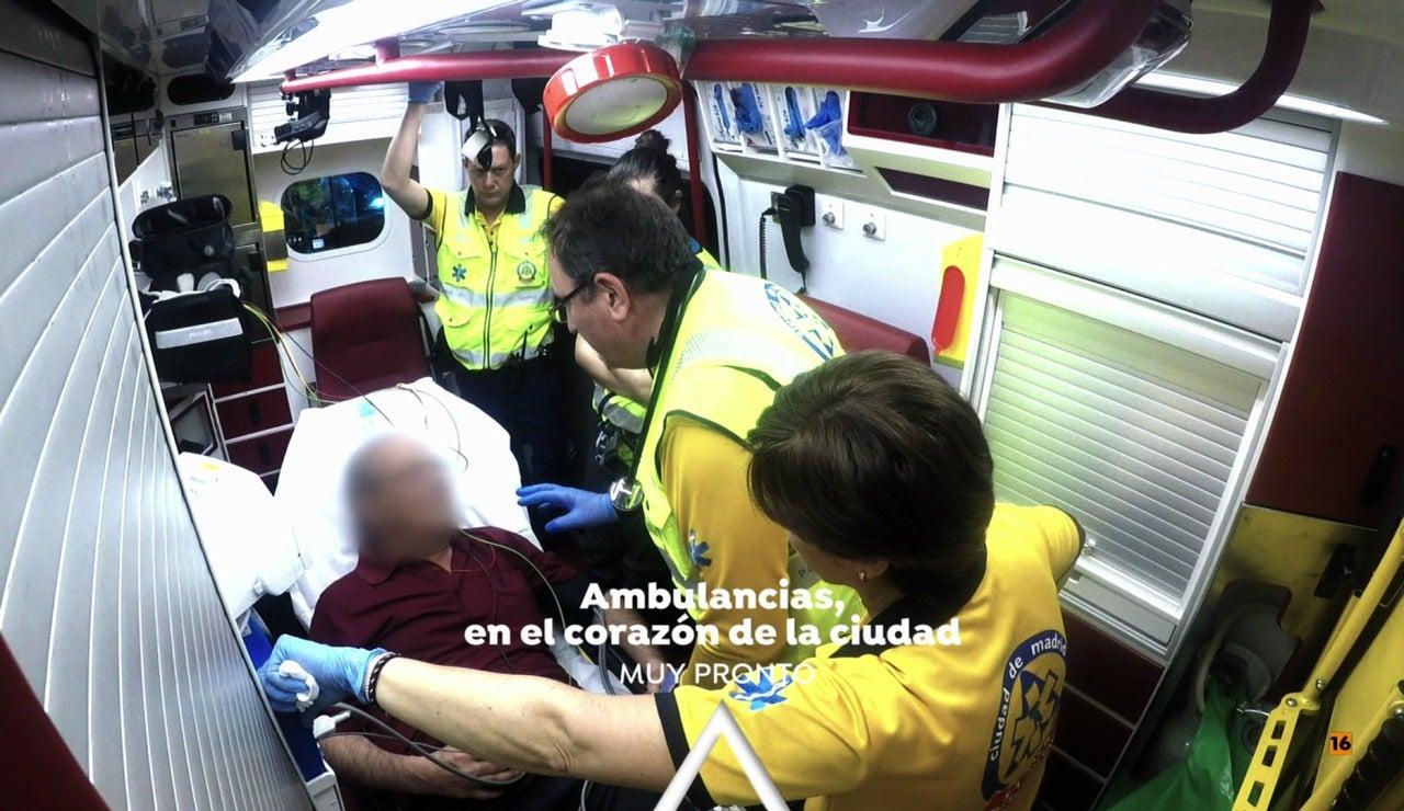 'Ambulancias, en el corazón de la ciudad' muy pronto en Antena 3