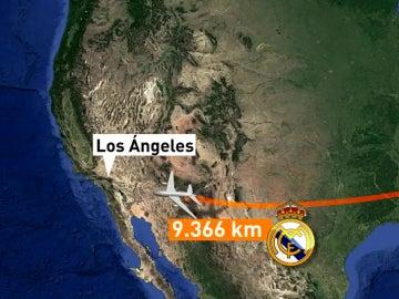 El Real Madrid, de gira norteamericana