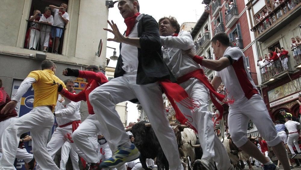 Cuarto encierro San Fermín 2017