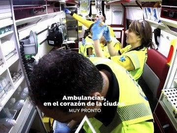 Vive de primera mano lo que ocurre dentro de una ambulancia