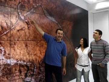 Encuentran en Gipuzkoa unos grabados paleolíticos únicos en la Península