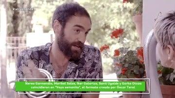 "Jon Plazaola: ""Yo he presentado un homenaje a Gorka Aguinagalde"""
