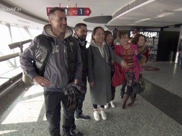 Fernando y Rafa, un auténtico espectáculo para los turistas