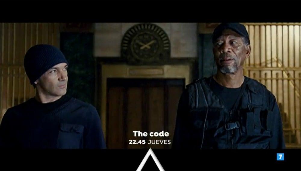 Antonio Banderas y Morgan Freeman protagonizan 'The Code' en Antena 3