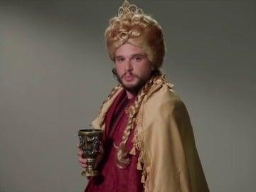 Kit Harington parodia a sus compañeros de 'Juego de Tronos'