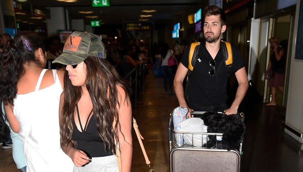 Chabelita y Alejandro Albalá regresan de su viaje a Perú