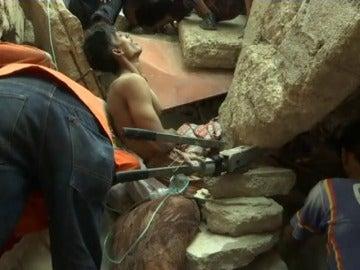 Cuatro personas mueren en un derrumbe en Pakistán