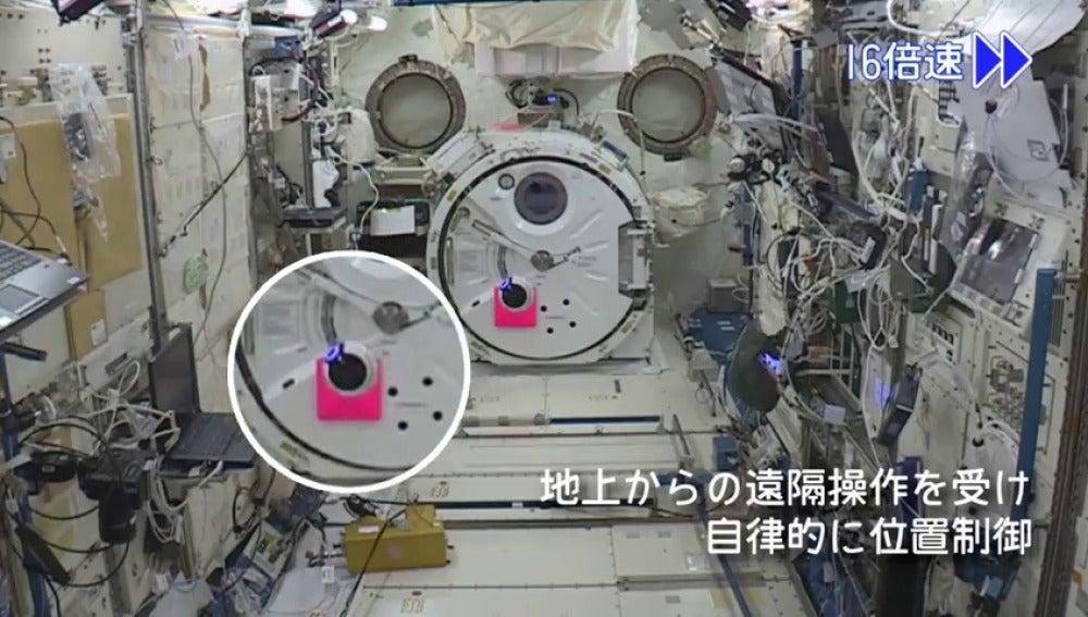 La Estación Espacial Internacional ya tiene su dron
