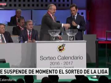 Se aplaza el sorteo de la Liga por la detención de Villar