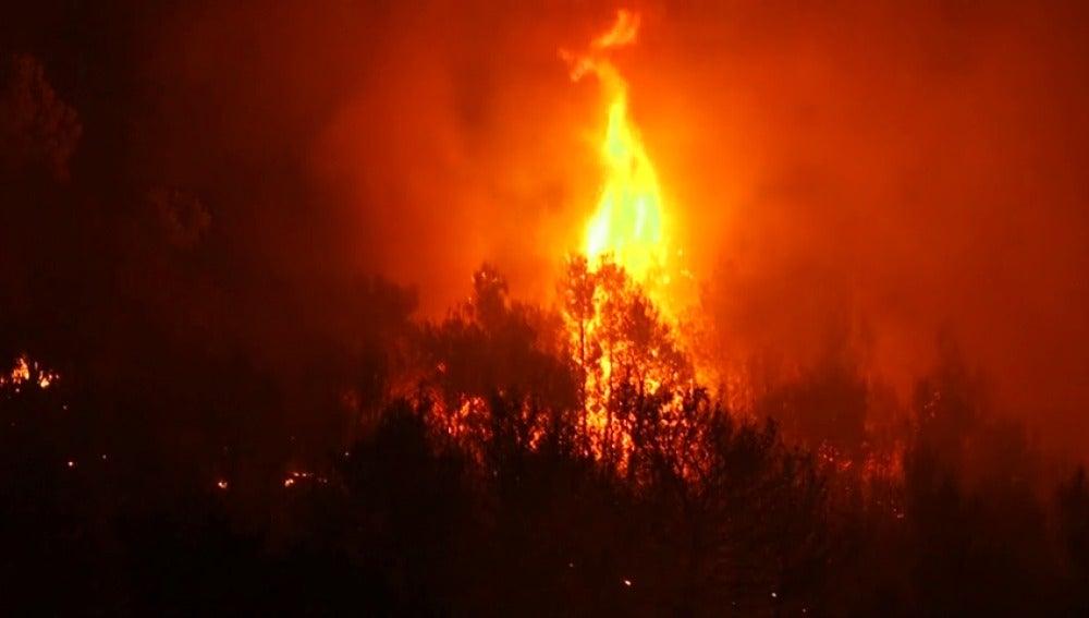 Varios incendios dejan al menos un muerto en Croacia