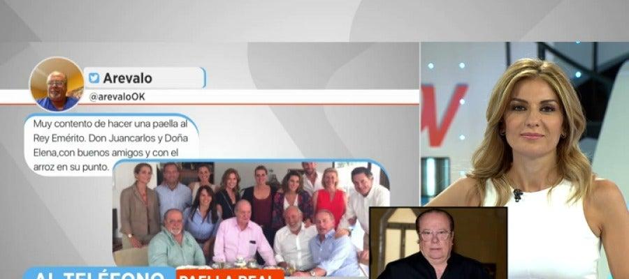 Antena 3 tv ar valo sobre la paella con el rey mucha for Ver espejo publico hoy
