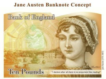 El nuevo billete de 10 libras