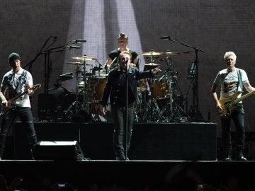 U2 durante su gira The Joshua Tree