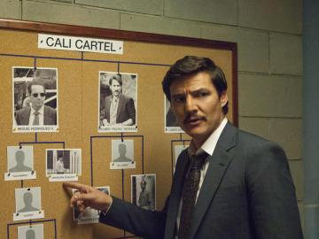 Javier Peña interpretado por Pedro Pascal