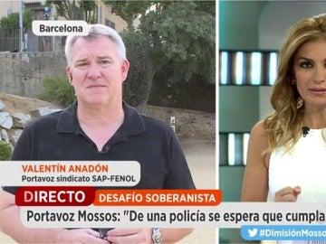 Valentí Anadón, portavoz del sindicato SAP-Fepol