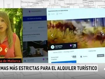 Baleares aprueba endurecer las multas a las plataformas que alquilen viviendas vacacionales de forma irregular