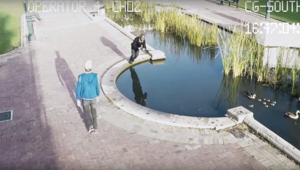 Una secuencia del vídeo