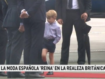 Se agota la camisa del príncipe George