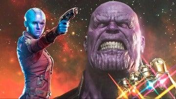 ¡Brutal! Teaser de AVENGERS: INFINITY WAR, ¿Nebula de la ORDEN NEGRA? Explicación...