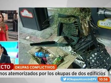 Los vecinos de Alcorcón atemorizados por los okupas