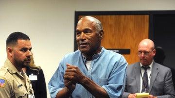 O.J. Simpson, en la audiencia por su libertad condicional