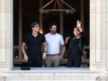 Céline Dion en la Semana de la Moda de París