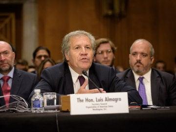 Luis Almagro ante el subcomité para Latinoamérica de la Cámara Alta de EE.UU.