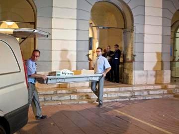 Exhumación de Dalí
